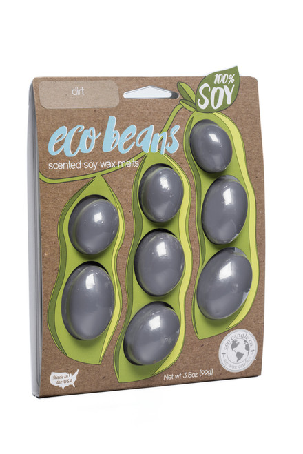 eco beans soy melts dirt