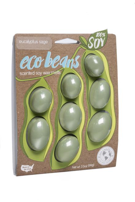 eco beans soy melts eucalyptus sage