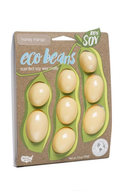 eco beans soy melts honey mango