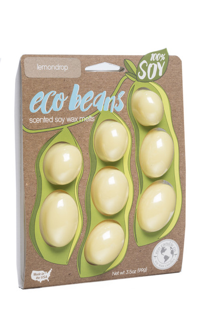 eco beans soy melts lemondrop