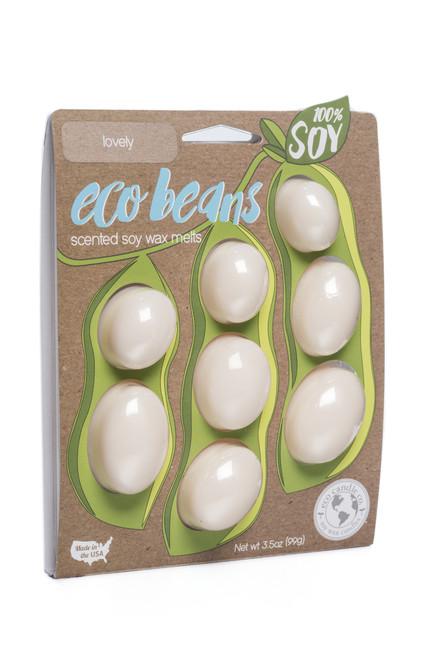 eco beans soy melts lovely