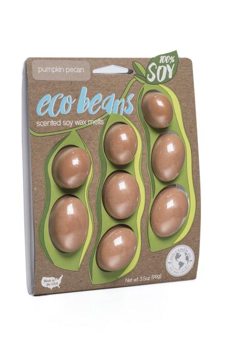 eco beans soy melts pumpkin pecan