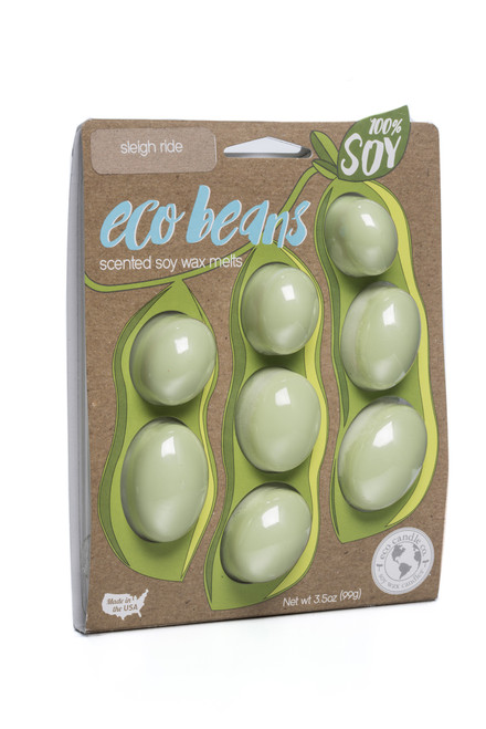 eco beans soy melts sleigh ride