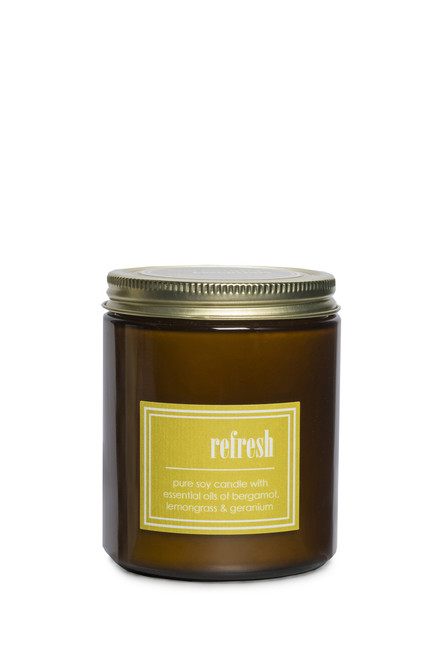 ECO ESSENTIALS soy candle REFRESH