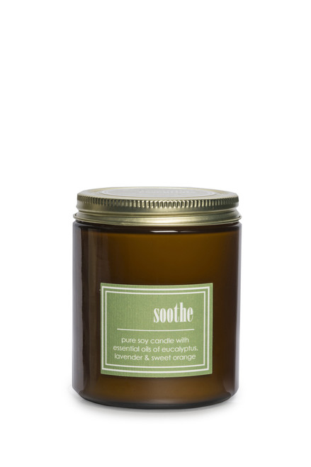 ECO ESSENTIALS soy candle SOOTHE