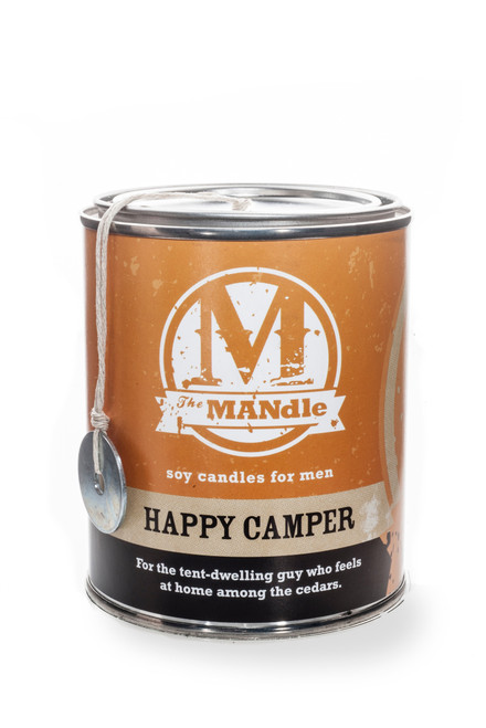 The MANdle Happy Camper