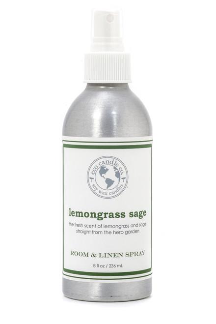room & linen spray LEMONGRASS SAGE