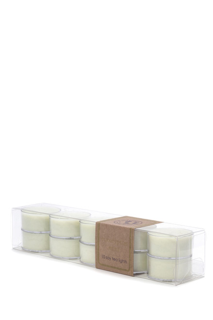 soy tea light 10pk EUCALYPTUS MINT