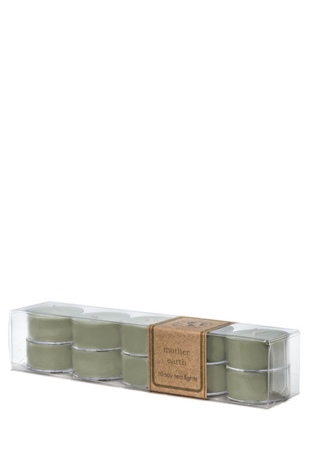 soy tea light 10pk MOTHER EARTH