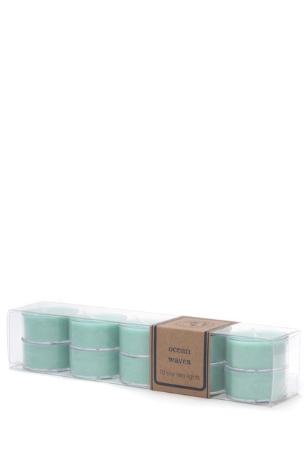soy tea light 10pk OCEAN WAVES