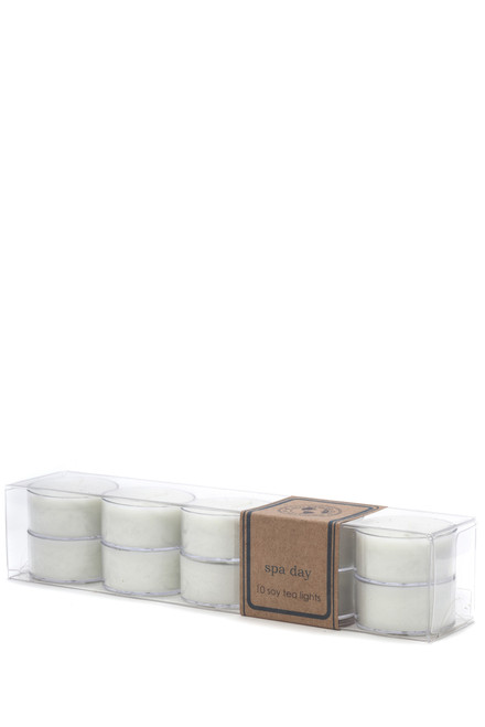 soy tea light 10pk SPA DAY