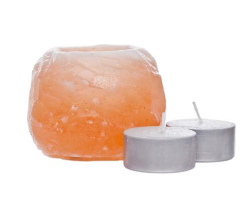 himalayan salt tea light holder SMALL