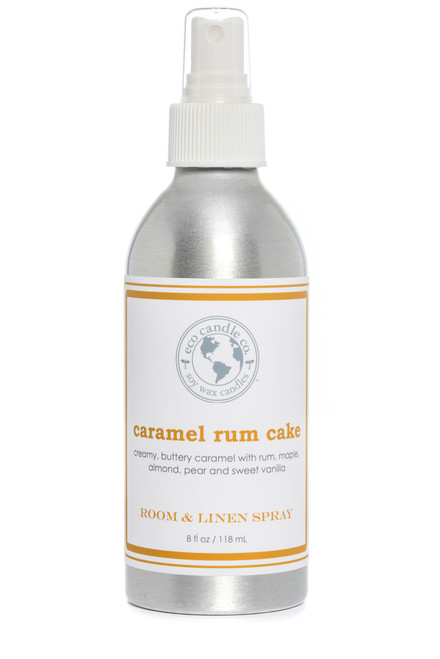 room & linen spray CARAMEL RUM CAKE