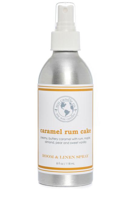 room & linen spray CARAMEL RUM CAKE