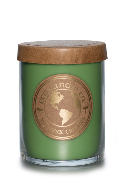 16oz CARAMEL APPLE soy candle by Eco Candle Co.