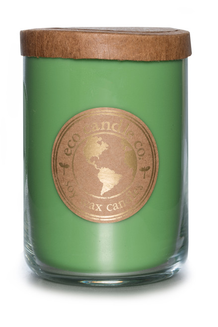 26oz CARAMEL APPLE soy candle by Eco Candle Co.