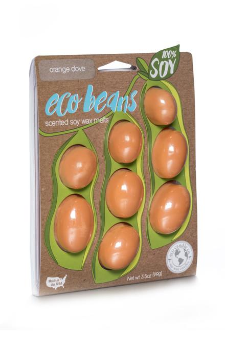 Eco Beans soy wax melts ORANGE CLOVE