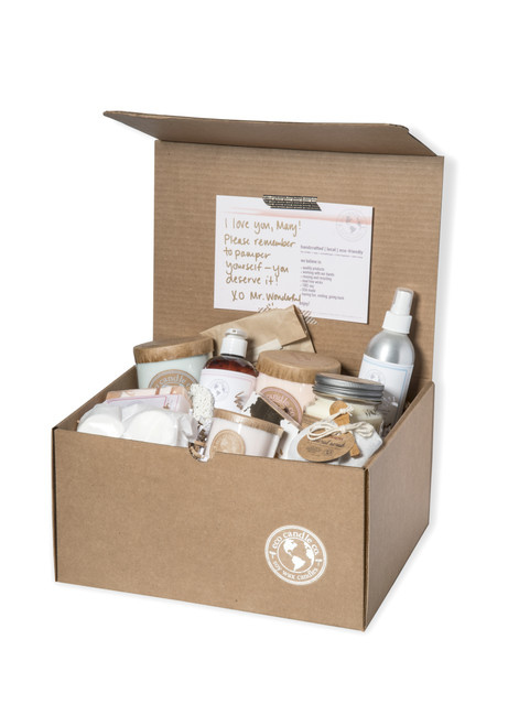 Gift Box   Candles + Bath   Large