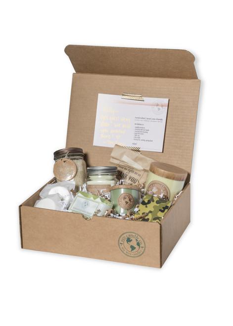 Gift Box | Candles + Bath | Medium