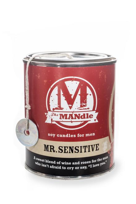 The MANdle MR. SENSITIVE   wine & roses