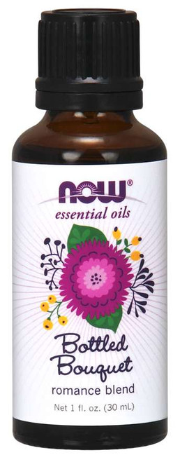 NOW essential oil - bottled bouquet