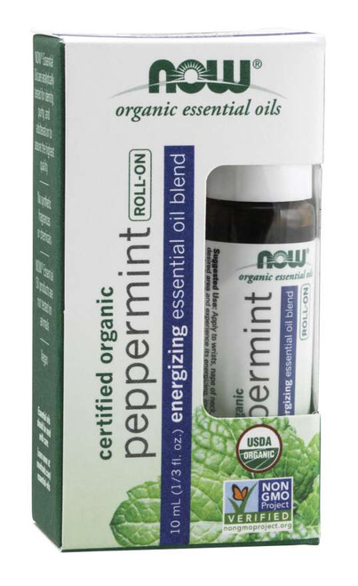 essential oil roll-on organic PEPPERMINT