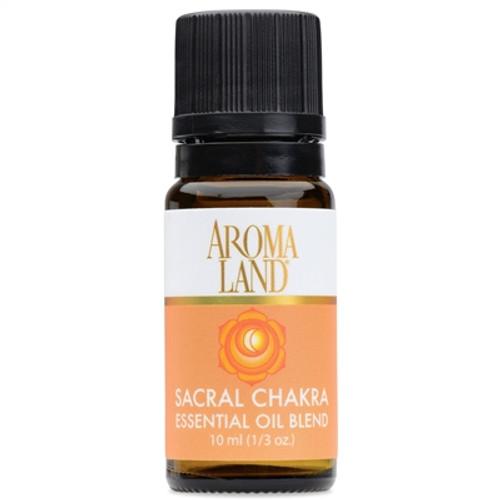 essential oil blend SACRAL CHAKRA