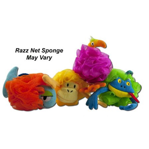 kids net bath sponge FROG