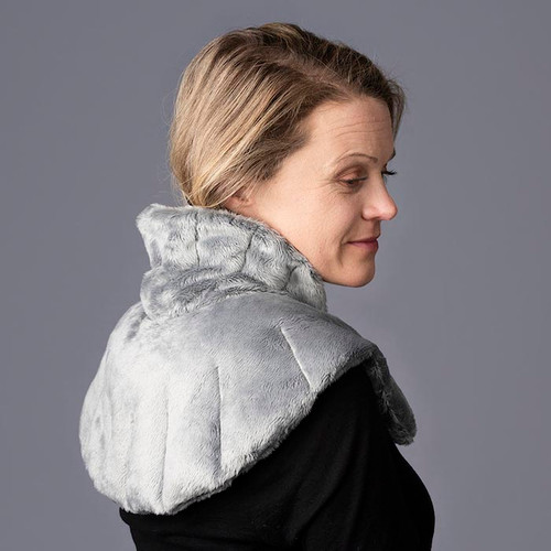 neck and shoulder wrap CHARCOAL