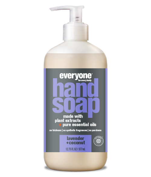 liquid hand soap LAVENDER + COCONUT