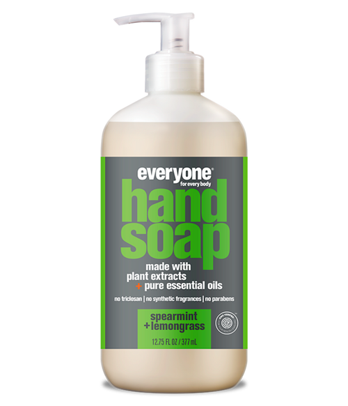 liquid hand soap SPEARMINT + LEMONGRASS