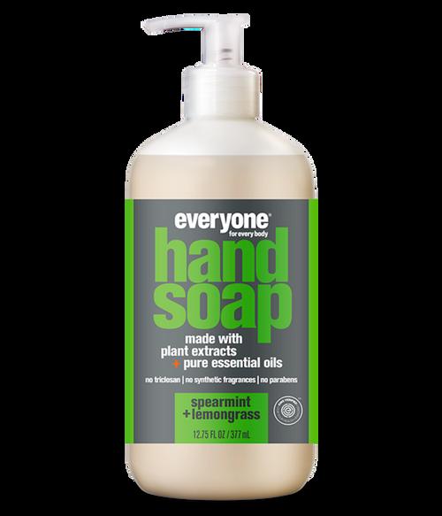 liquid hand soap SPEARMINT + LEMONGRASS