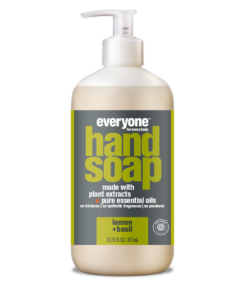 liquid hand soap LEMON + BASIL