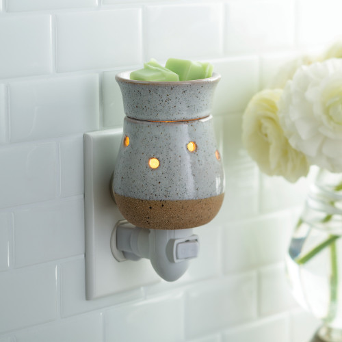 fragrance warmer PLUGGABLE RUSTIC WHITE