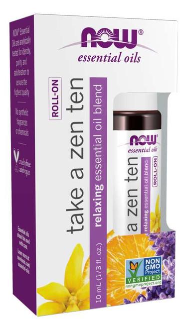 essential oil roll-on organic ZEN TEN