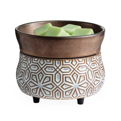 fragrance warmer BRONZE GEOMETRIC