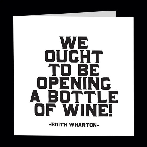 quotable card OPEN A BOTTLE