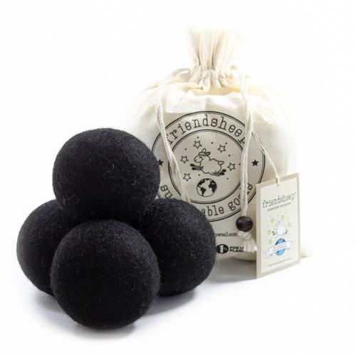 eco dryer ball set BLACK