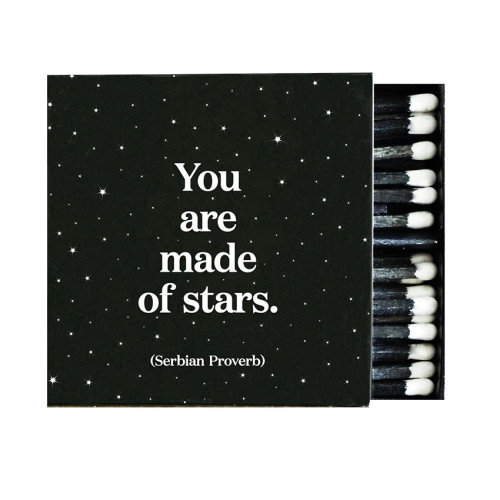 matches MADE OF STARS