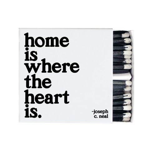 quotable matches HOME IS WHERE