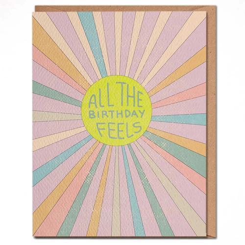 daydream card BIRTHDAY FEELS