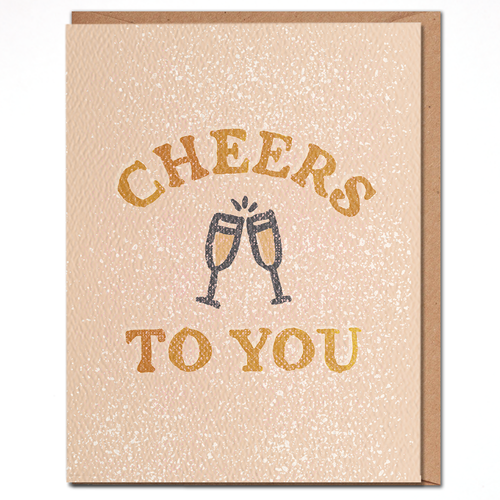 daydream card CHEERS TO YOU