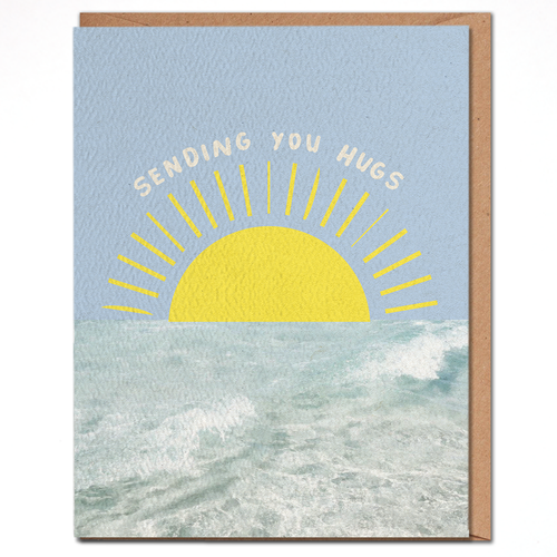 daydream card SENDING YOU HUGS