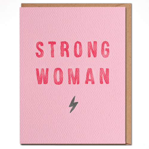 daydream card STRONG WOMAN