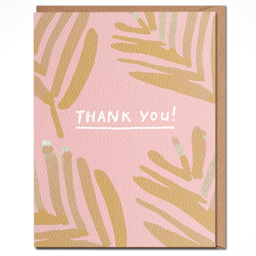 daydream card THANK YOU PALMS
