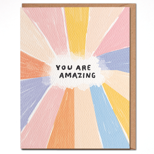 daydream card YOU ARE AMAZING