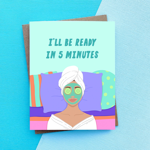 top hat card 5 MINUTES