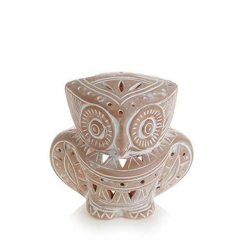lantern TERRACOTTA OWL
