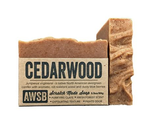 wild soap CEDARWOOD