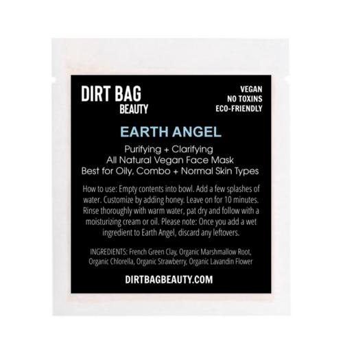 dirt bag face mask EARTH ANGEL